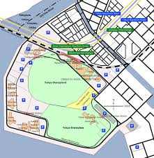 Disney Downtown Map Tokyo Disney Resort Wikipedia