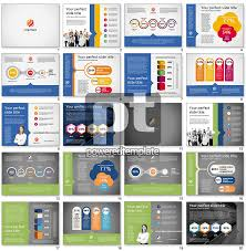 company results presentation template for powerpoint presentations