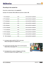 rounding to the nearest ten worksheet worksheets for kids u0026 free