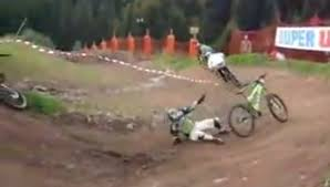 motocross mountain bike throwbackthursday igor obu jumps mountain bike 138 2 feet off a