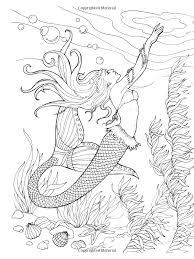 creative haven mermaids coloring book coloring barbara