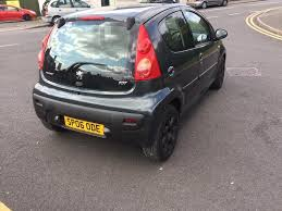 peugeot 107 estate peugeot 107 1 0 12v urban move 4 door 2006 06 plate in walsall