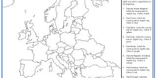 europe map worksheet free worksheets library download and print