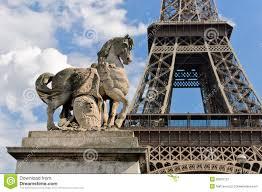 Large Eiffel Tower Statue Horse Statue Eiffel Tower Paris Stock Photos Images U0026 Pictures