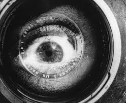 man with a movie camera review montage spinning out of control