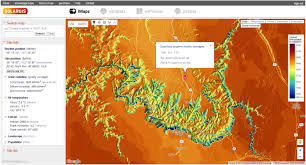 Grand Canyon Map Usa by Imaps Interactive Solar Potenial Maps Solargis