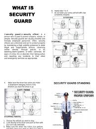 security guard handbook security guard hand
