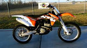motocross bike for sale 2012 ktm 250 sx f electric start motocross bike youtube