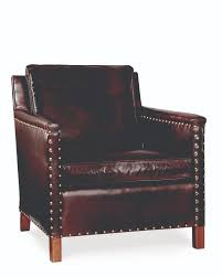 Irving Leather Chair Leather Nailhead Chair Modern Chairs Quality Interior 2017