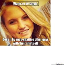 Scumbag Girl Meme - scumbag teenage girl by royken meme center