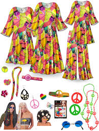 halloween costumes sale sold out clearance lava love print hippie costume 60 u0027s style