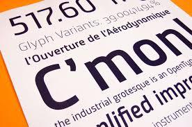 schrift design sinews konstruierte technische text und logo schrift quarish