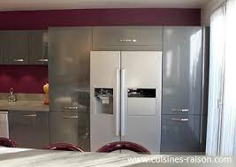 cuisine du frigo meuble cuisine pour frigo idée de modèle de cuisine