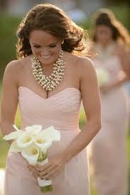 bridesmaid statement necklaces handmade chunky bridal ivory necklace vintage inspired wedding