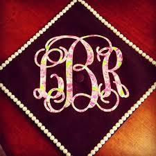 monogram graduation cap alyce prom top 12 creative ways to decorate your graduation cap
