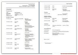 Lebenslauf Vorlage Excel Kostenlose Lebenslauf Vorlagen Starengineering