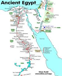 Alexandria On A Map Ancient Egypt Map 945 924 Bc Cartografía Atlas Y Mapas 2