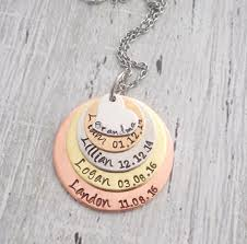 personalized necklace images Personalized grandma necklace personalized mom necklace jpg