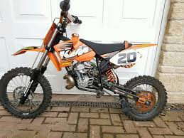 kids motocross bike ktm motox sx 50 50cc kids bike very special in tranent east