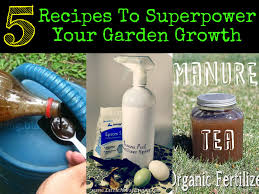 Manure For Vegetable Garden by Recipes To Superpower Your Garden Growth