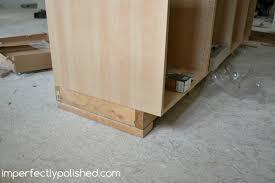how to install kitchen island impressive installing kitchen island cabinets how to install a
