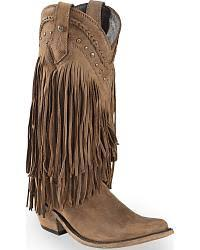 womens size 12 fringe boots s boots country outfitter