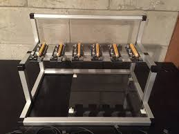 how to open a miner s l gpu mining rig open air frame case with 6 usb risers review 1st