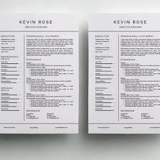 Clean Resume Template Simple Resume Template Clean Cv Design From Simplecleanresume On