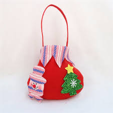 candy bags christmas candy bag santa claus snowmen elk gift bag fruit candy