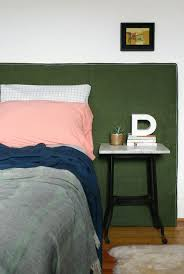 How To Make A Headboard With Fabric by Upholstery Project How To Make A Diy Headboard With Fabric