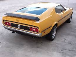 1972 mustang mach 1 value 1972 ford mustang mach 1 fastback 153537