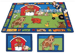 Kids Classroom Rugs All Alphabet Farm Carpet By Carpets For Kids Options Classroom