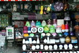 lamps and other home decors sold at stores in dapitan arcade