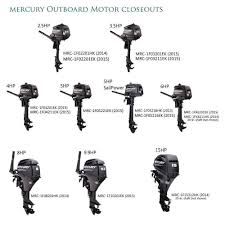 mercury outboard motor closeouts