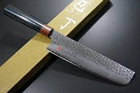 seto japanese chef knives damascus forged steel from