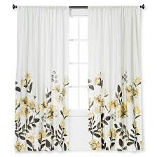 climbing floral window curtain panel threshold target