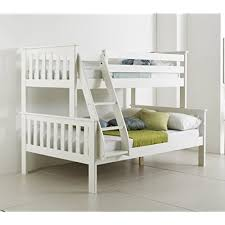Bunk Bed With Mattress White Bunk Beds With Mattresses Amazon Co Uk