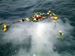 scattering ashes at sea scattering cremated funeral ashes at sea in the bc