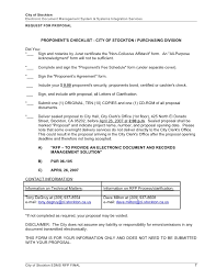 sle rfp template 1 1 request for rfp process 7