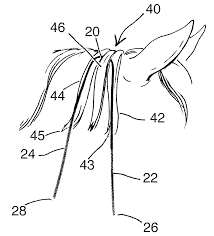 patent us20120006281 horse hair braiding device and method