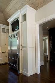 tv in kitchen ideas best 25 kitchen tv ideas on wood mode tv in kitchen