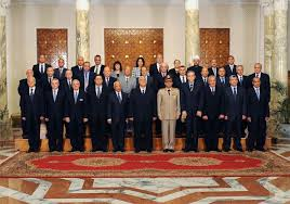 Cabinet President Egypt U0027s Interim President Swears In New Cabinet The Times Of Israel