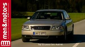 top 10 luxury cars 2001 audi a8 youtube