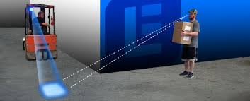 blue warning lights on forklifts explosion proof blue forklift led warning spotlight c1d1 25 watt