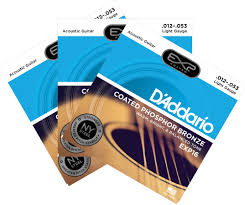 2 pack with free 3rd set d addario exp coated phosphor bronze acoustic guitar strings 31 gif
