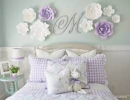 Flower Wall Decor 24 Wall Decor Ideas For Girls U0027 Rooms