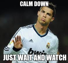 Cristiano Ronaldo Meme - lionel messi vs cristiano ronaldo battles comic vine