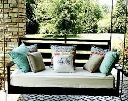 porch swing bed etsy