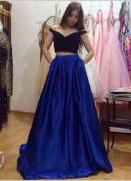 prom dress black dress blue dress royal blue dress long black