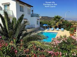 elexus hotel girne sunset villa esentepe on sea luxury detached sea front villa
